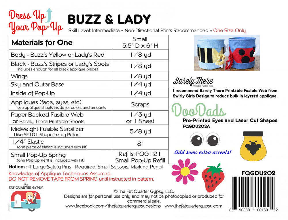 Buzz-Lady-sewing-pattern-Fat-Quarter-Gypsy-back