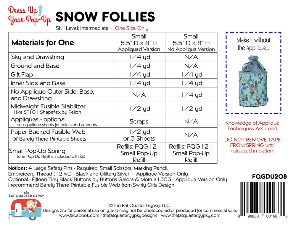 Snow-Follies-sewing-pattern-Fat-Quarter-Gypsy-back