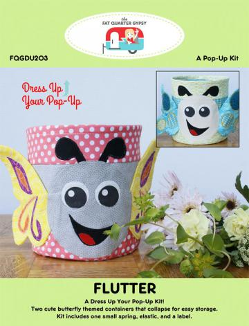 Flutter dress up your Pop Up sewing pattern by the Fat Quarter Gypsy