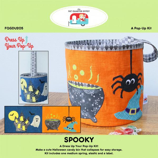 Spooky dress up your Pop Up sewing pattern by the Fat Quarter Gypsy