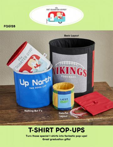 T-Shirt Pop Ups sewing pattern by the Fat Quarter Gypsy