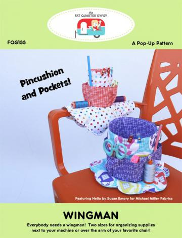 Wingman sewing pattern by the Fat Quarter Gypsy