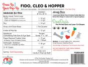Fido, Clean & Hopper dress up your Pop Up sewing pattern by the Fat Quarter Gypsy 1