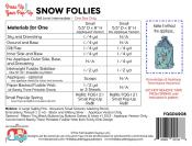 Snow Follies dress up your Pop Up sewing pattern by the Fat Quarter Gypsy 1