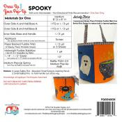 Spooky dress up your Pop Up sewing pattern by the Fat Quarter Gypsy 1