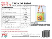 Trick or Treat dress up your Pop Up sewing pattern by the Fat Quarter Gypsy 1