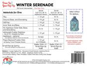 Winter's Serenade dress up your Pop Up sewing pattern by the Fat Quarter Gypsy 1