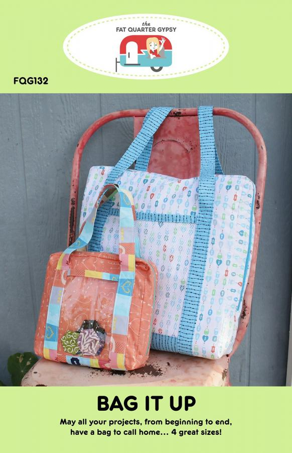 Bag It Up sewing pattern by the Fat Quarter Gypsy