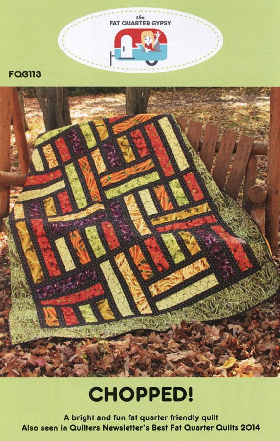 Chopped! quilt sewing pattern by the Fat Quarter Gypsy