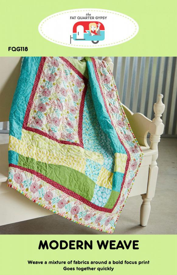 Modern-Weave-quilt-sewing-pattern-Fat-Quarter-Gypsy-front