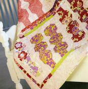 Bumble quilt sewing pattern by the Fat Quarter Gypsy image 1