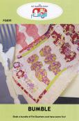 Bumble quilt sewing pattern by the Fat Quarter Gypsy front cover