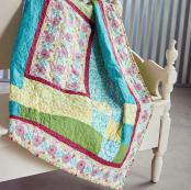 Modern Weave quilt sewing pattern by the Fat Quarter Gypsy 2