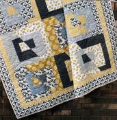 Tabitha quilt sewing pattern by the Fat Quarter Gypsy image 1
