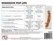 Windsock Pop Ups sewing pattern & hardware kit by the Fat Quarter Gypsy 1