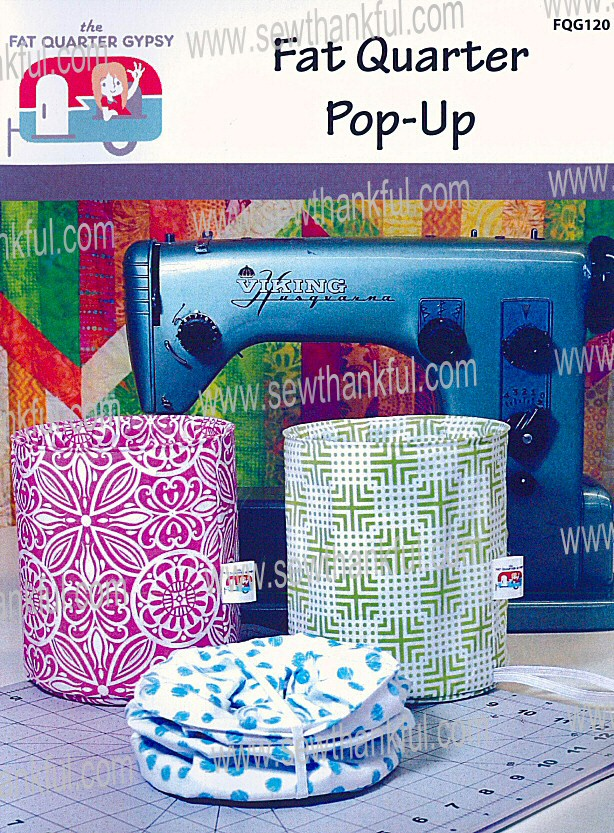 Fat Quarter Pop Up Sewing Pattern By The Fat Quarter Gypsy