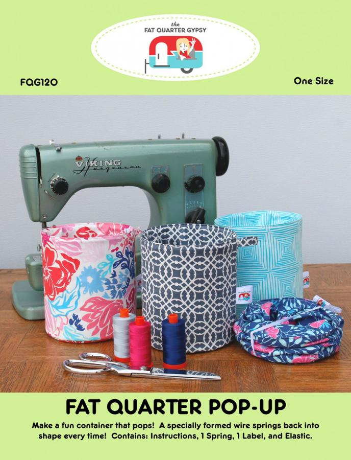 Fat Quarter Pop-Up sewing pattern by the Fat Quarter Gypsy