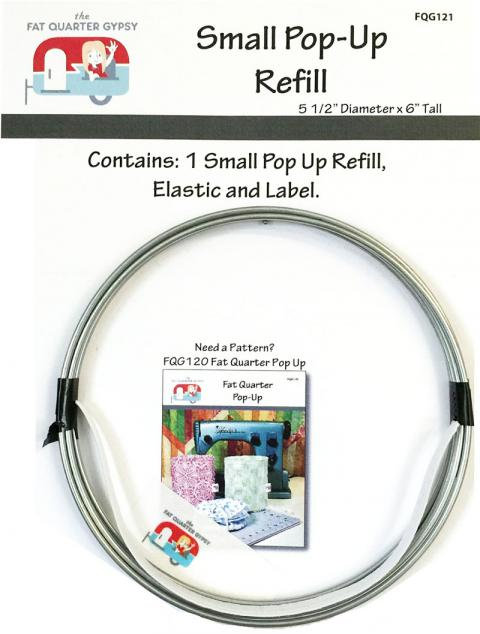 Fat Quarter Pop-Up REFILL - SMALL (no pattern) by the Fat Quarter Gypsy