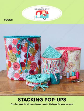 Stacking Pop-Ups sewing pattern by the Fat Quarter Gypsy