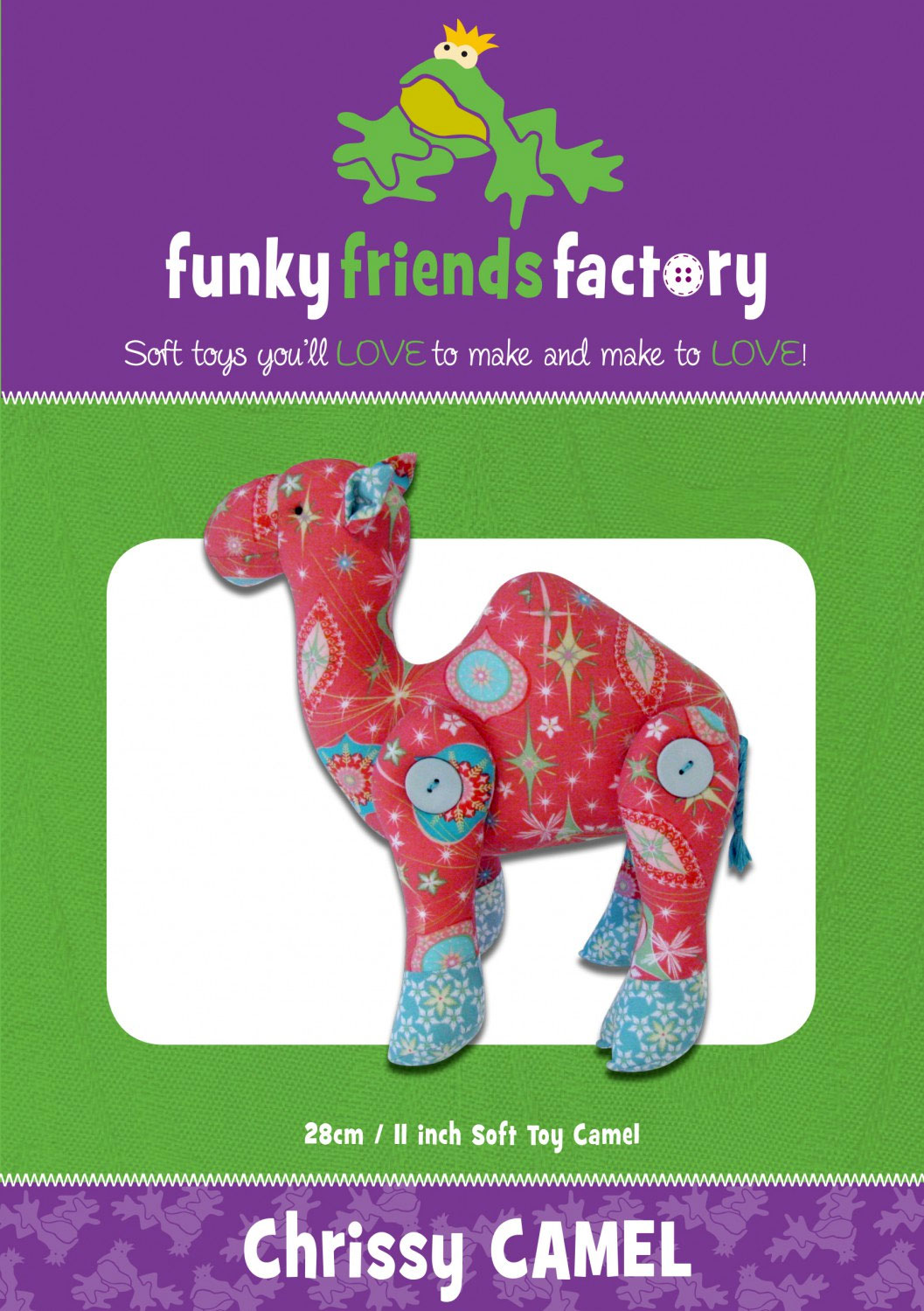 Chrissy-Camel-sewing-pattern-Funky-Friends-Factory-front