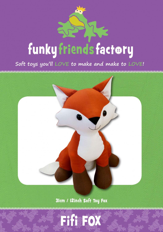 Fifi-Fox-sewing-pattern-Funky-Friends-Factory-front
