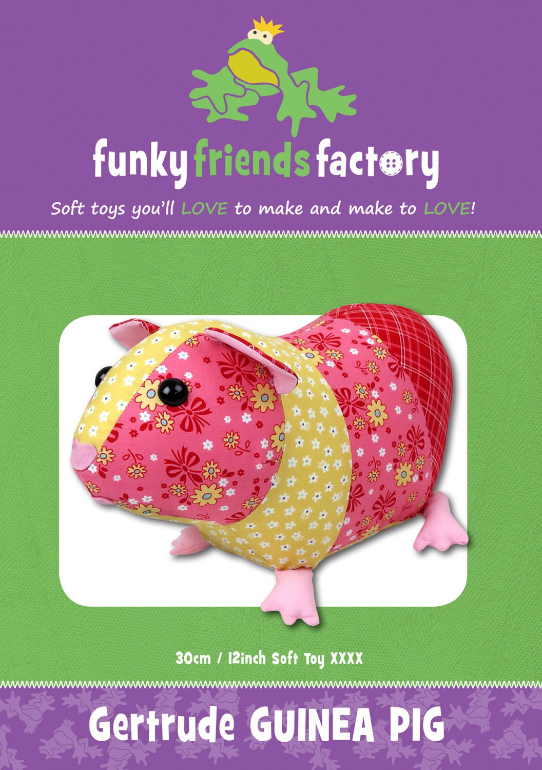Gertrude-Guinea-Pig-sewing-pattern-Funky-Friends-Factory-front