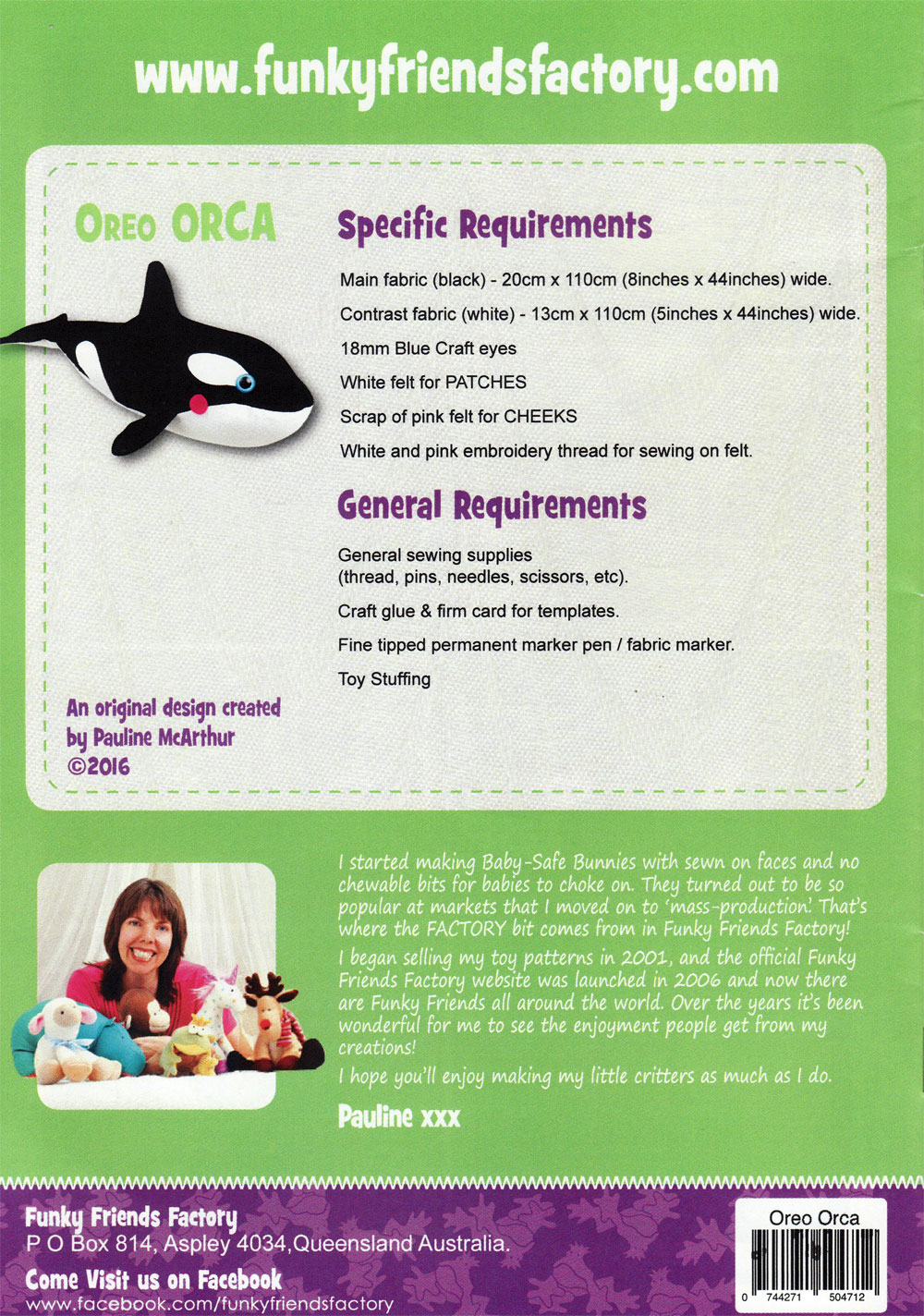 Oreo-Orca-sewing-pattern-Funky-Friends-Factory-back