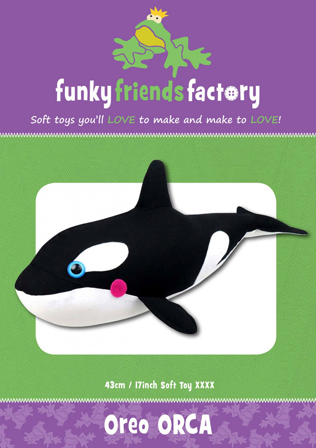 Oreo-Orca-sewing-pattern-Funky-Friends-Factory-front