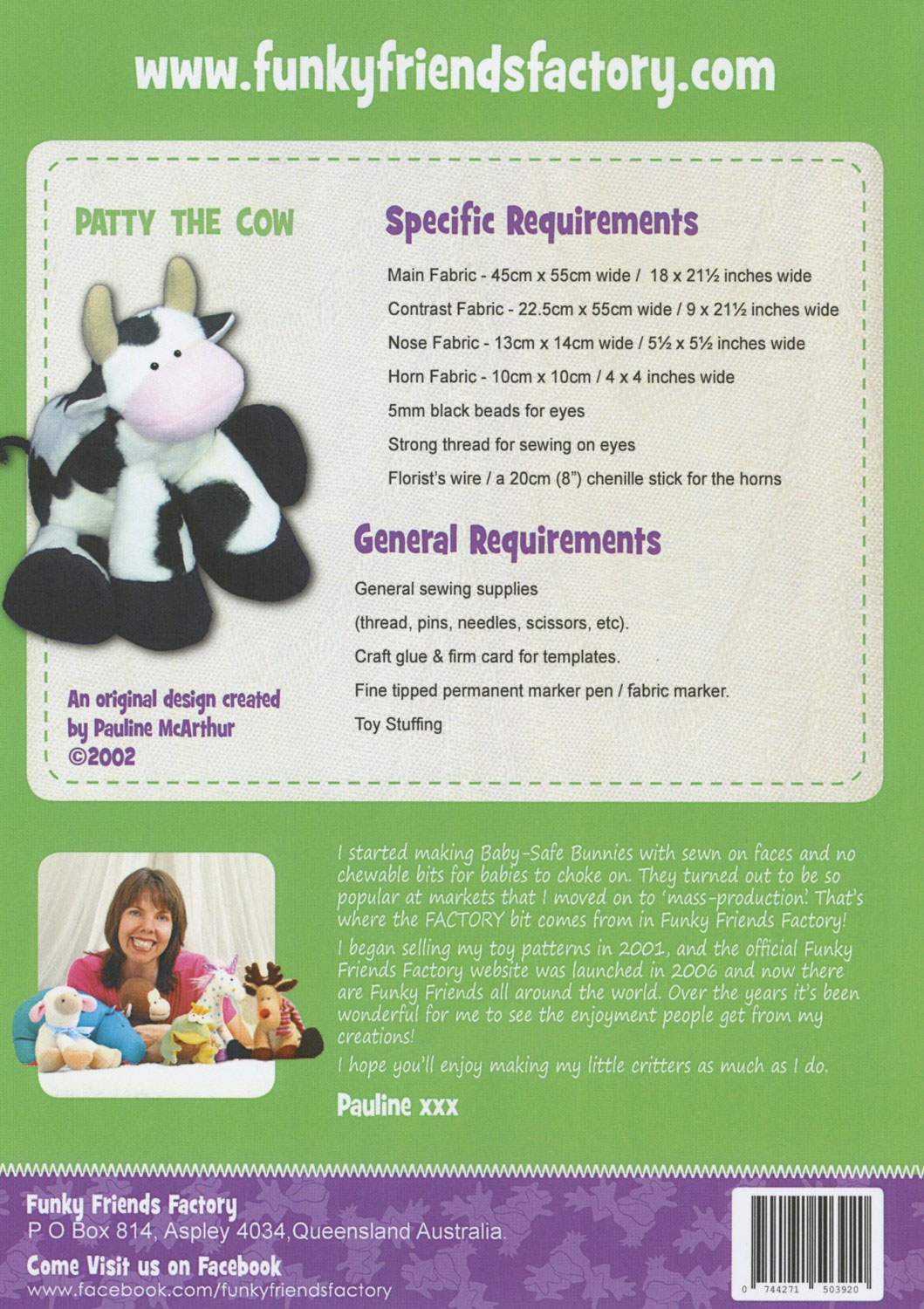 Patty-the-Cow-sewing-pattern-Funky-Friends-Factory-back