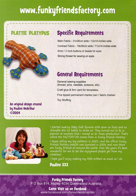 Plattie-Platypus-sewing-pattern-Funky-Friends-Factory-back