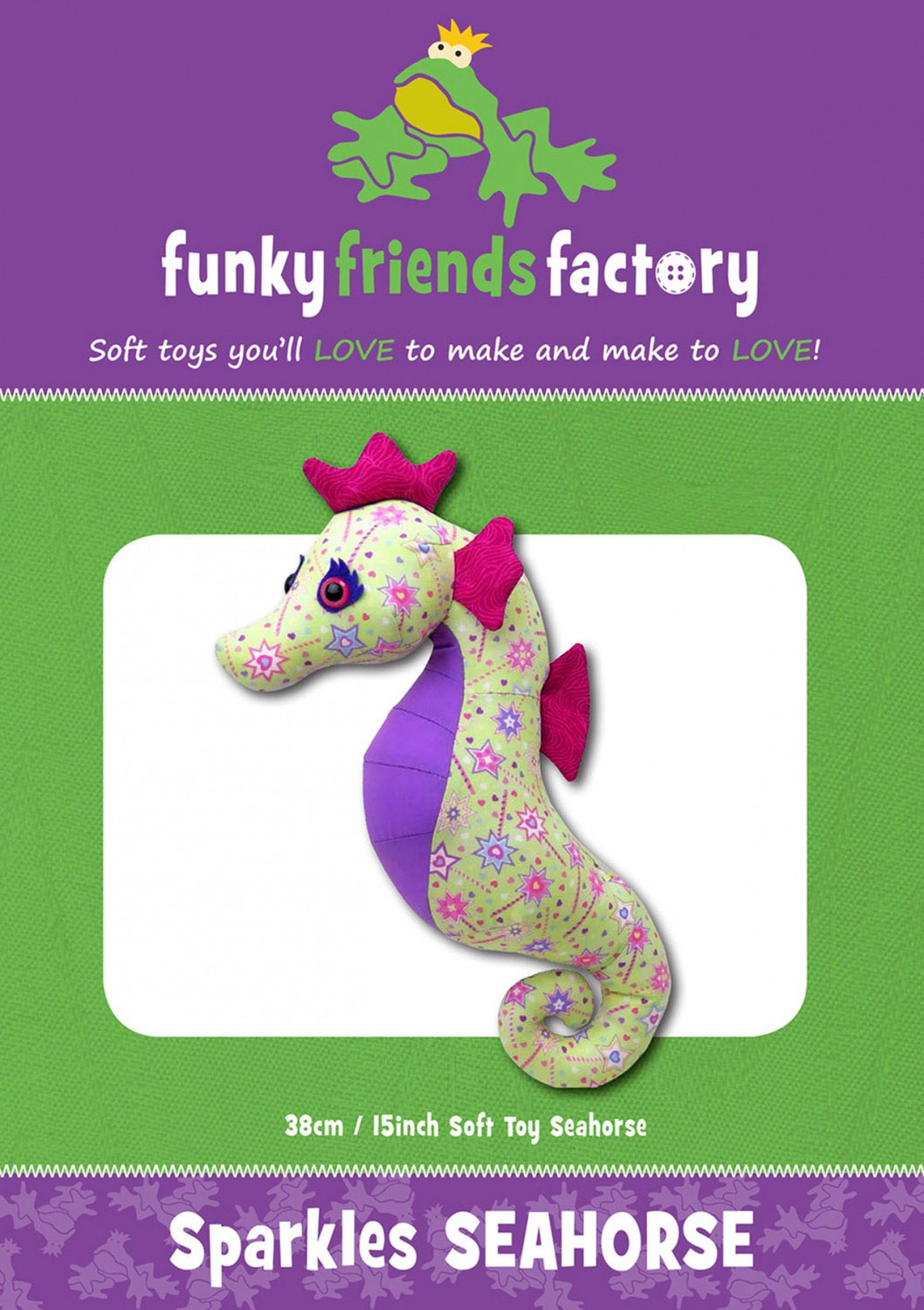 Sparkles-Seahorse-sewing-pattern-Funky-Friends-Factory-front