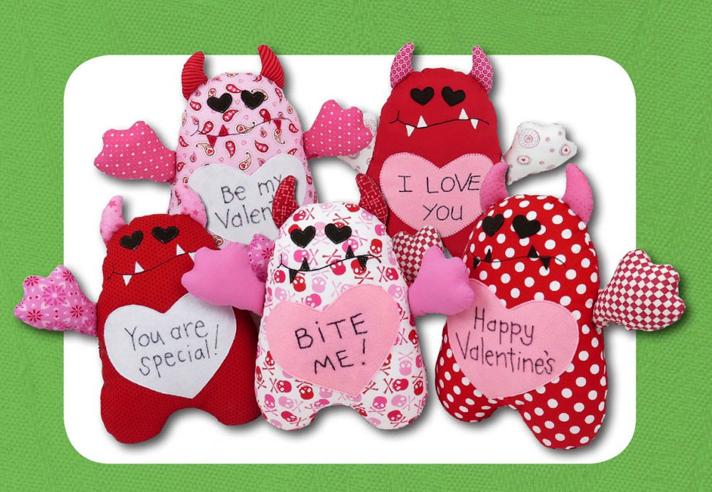 Valentines-Love-Monsters-sewing-pattern-Funky-Friends-Factory-1