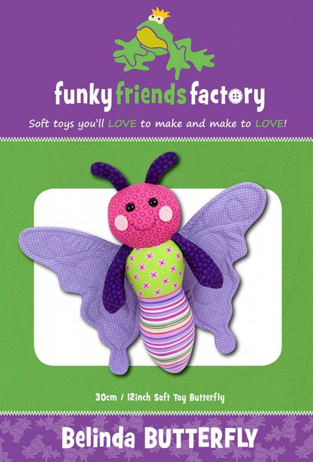 Belinda Butterfly sewing pattern Funky Friends Factory