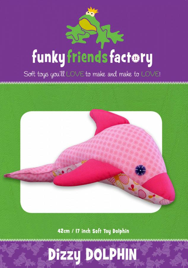 Dizzy Dolphin sewing pattern Funky Friends Factory