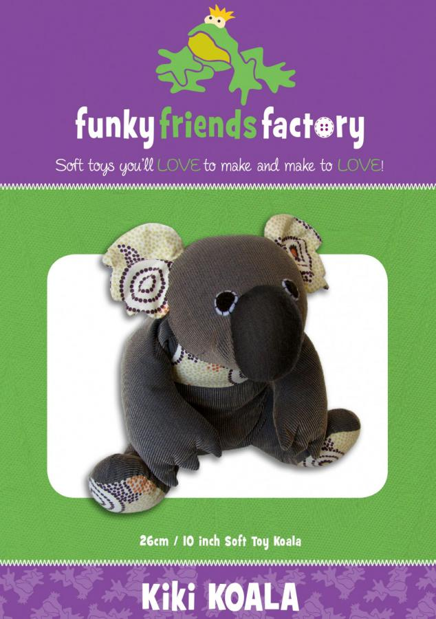 Kiki Koala sewing pattern Funky Friends Factory