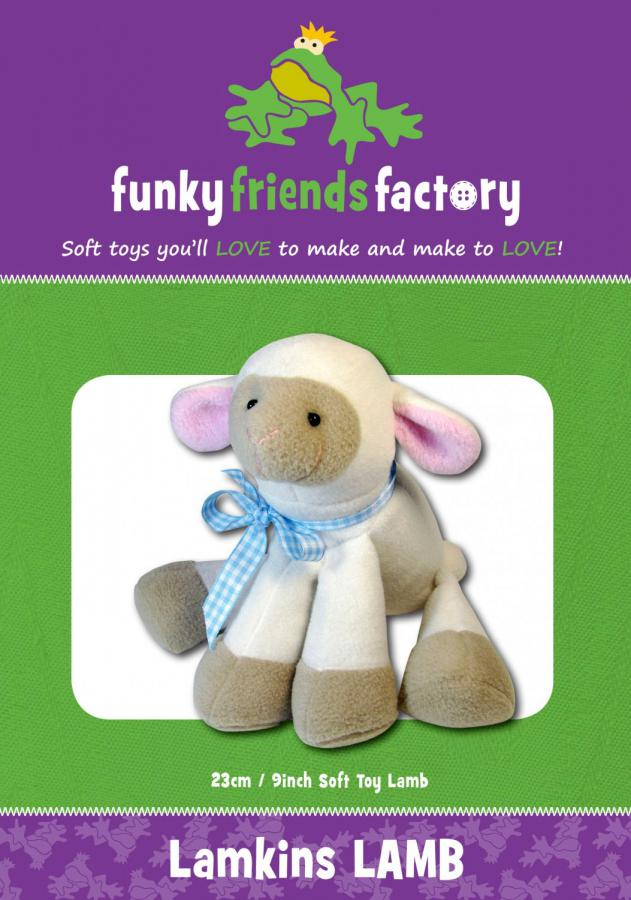 Lamkins Lamb sewing pattern Funky Friends Factory