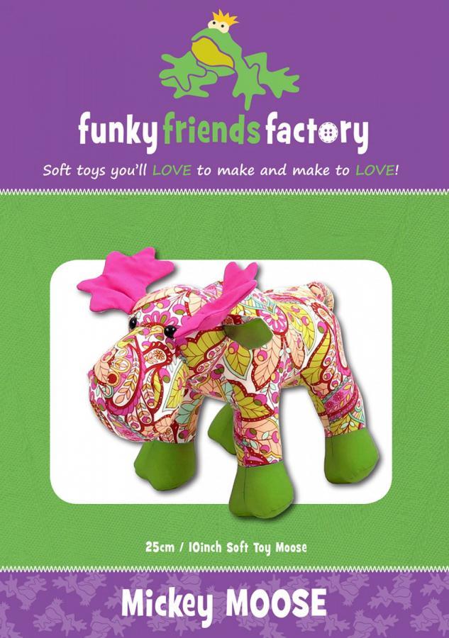 Mickey Moose sewing pattern Funky Friends Factory