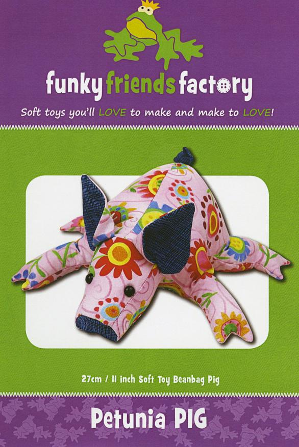 Petunia Piglet sewing pattern Funky Friends Factory
