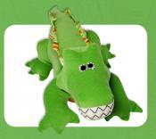 Crocodile or Alligator Steve sewing pattern Funky Friends Factory 4