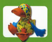 Dibly Duck sewing pattern Funky Friends Factory 2