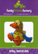 Dibly Duck sewing pattern Funky Friends Factory