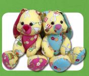 Easter Bunny Buddies sewing pattern Funky Friends Factory 2