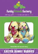 Easter Bunny Buddies sewing pattern Funky Friends Factory