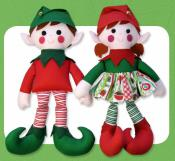 INVENTORY REDUCTION...Edward & Edwina Elf sewing pattern Funky Friends Factory 2