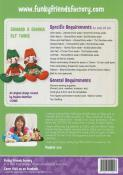 INVENTORY REDUCTION...Edward & Edwina Elf sewing pattern Funky Friends Factory 1