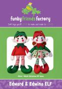 INVENTORY REDUCTION...Edward & Edwina Elf sewing pattern Funky Friends Factory