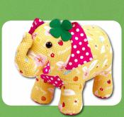 Georgie The Good Luck Elephant sewing pattern Funky Friends Factory 2