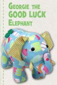 Georgie The Good Luck Elephant sewing pattern Funky Friends Factory 3
