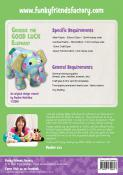 Georgie The Good Luck Elephant sewing pattern Funky Friends Factory 1