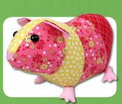 Gertrude Guinea Pig sewing pattern Funky Friends Factory 2